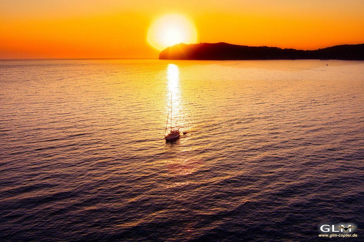 Sonnenuntergang Palinuro