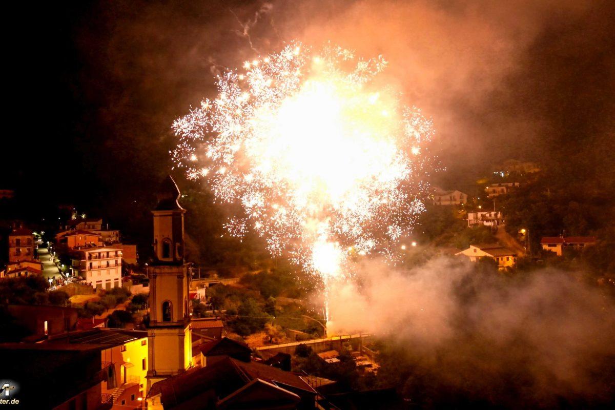 Rofrano Feuerwerk